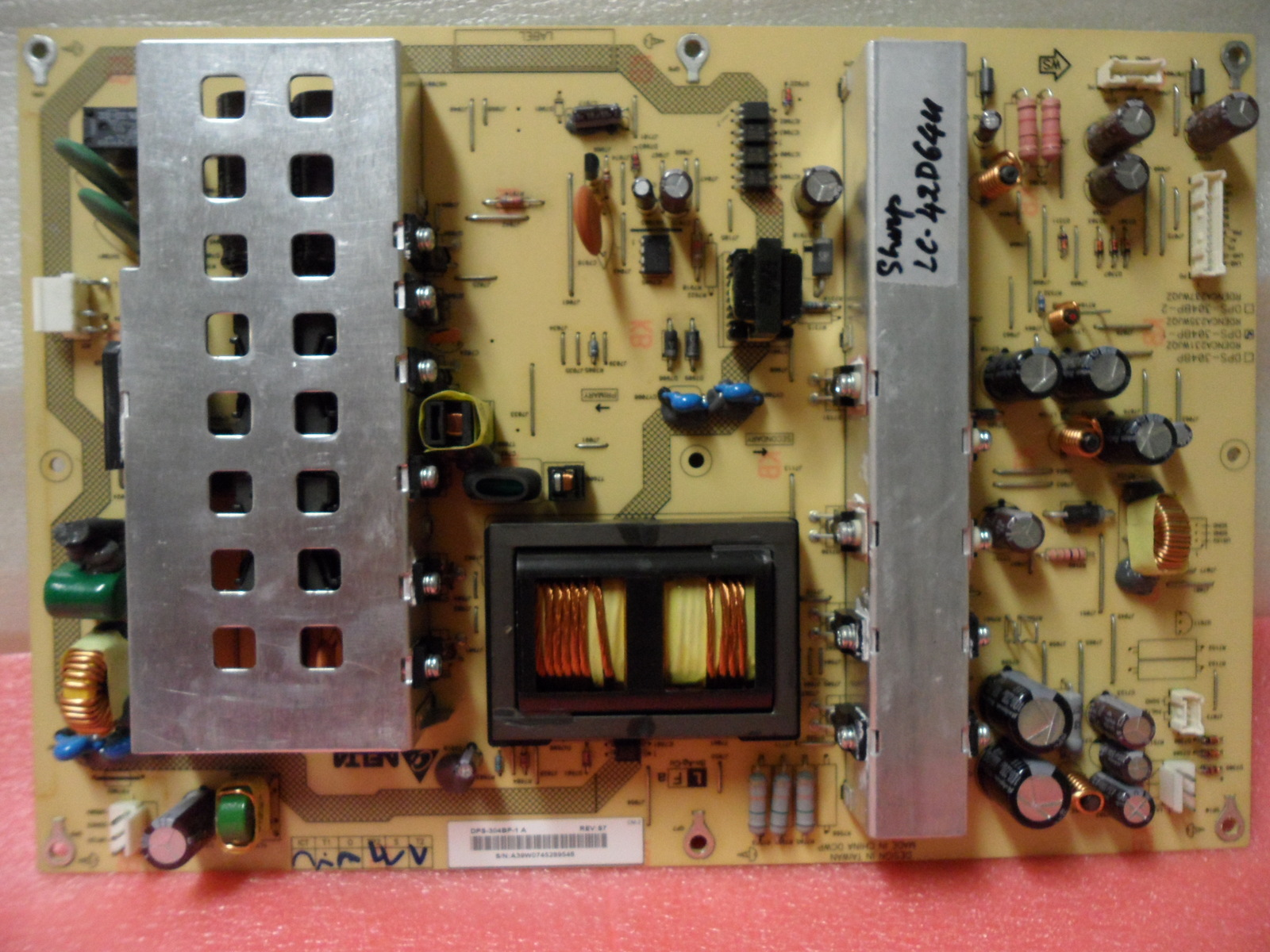 Primary image for Sharp RDENCA235WJQZ (DPS-304BP-1) Power Supply Unit