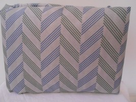 Best Home Collection Queen size  Sheet Set Chevron Stripe Gray Blue Green - $22.49