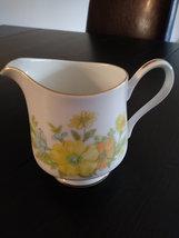 Vintage Ekco International Spring Bouquet Gravy Boat,Sugar Bowl,Creamer Fine Chi image 6