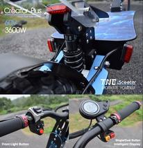 Electric Scooter TNE Creator Plus 3600w 60v 26ah Lithium Battery Dual Hub Motors image 4