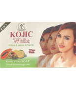 Kojic White Gluta Lemon Arbutin Soap /7 Days Days White Result fast ship... - $9.99