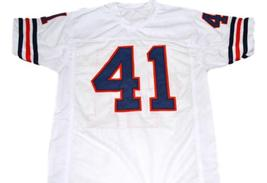 Brian Piccolo #41 Brian's Song Movie Men Football Jersey White Any Size image 5
