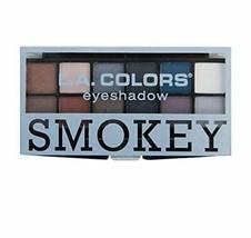 LA Colors Smokey 12 Color Eyeshadow Palette - $11.88