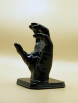 3D printed black hand - key holder - wall hanger - $11.88