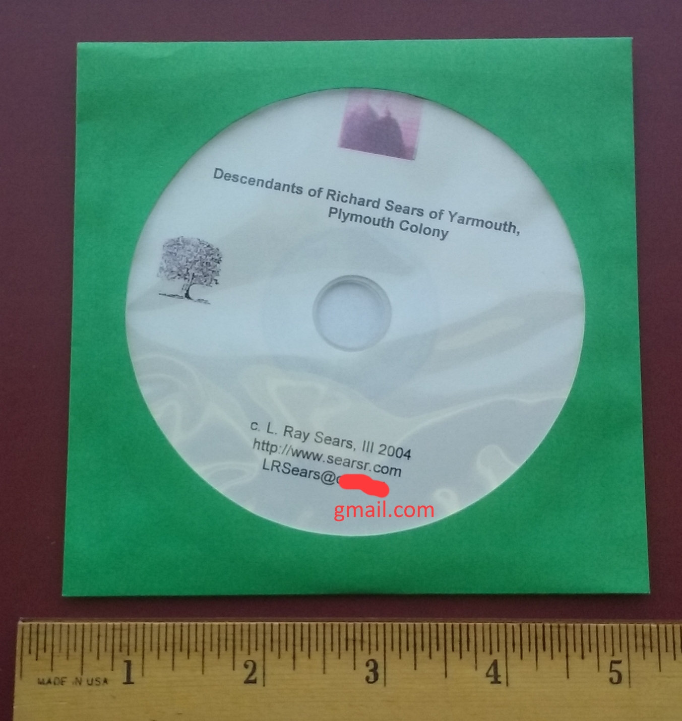 Sears Genealogical Catalogue - on CD