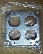 4in Square 2 Receptacle Cover - $5.80