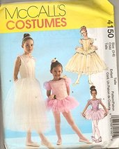 Ballerina Costumes Girls 3 Styles New Uncut McCall's - $14.70