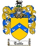 Tuttle Family Crest / Coat of Arms JPG or PDF Image Download - $6.99