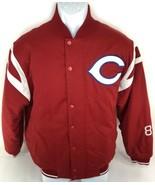 Cincinnati Reds Russell Athletic Baseball Dug Out Men's Jacket Size Medium  - $39.59