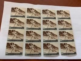 San Marino Sports 1953 lot of 16 mnh   stamps - $2.20