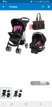 Graco Literider Priscilla Travel System Single Seat Stroller With Diaper... - $93.50