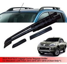 Roof Rack Carrier Baggage Holder Silver For Mitsubishi L200 Triton 2015 - 2018 - $249.33