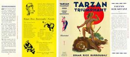 Burroughs, Edgar Rice. Tarzan Triumphant Facsimile Copertura 1st Grosset - $21.50