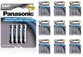 40 Wholesale Panasonic AAA Triple A Batteries heavy Duty Battery 1.5v Bulk lot - $11.95