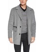 Calvin Klein Coat Wool Gray Men Sz XL NEW NWT 244