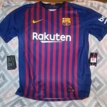 Nike Messi #10 Futbol Jersey Soccer Laliga Rakuten Unicef NEW - $69.25