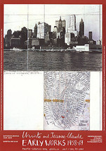 Javacheff Christo-Lower Manhattan (1964)-Poster - $42.08