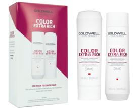 Goldwell USA Dualsenses Color Extra Rich Fade Stop Shampoo, Conditioner