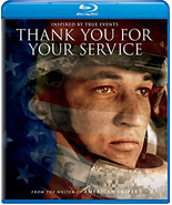 Thank You for Your Service [Blu-ray + DVD + Digital]  - $9.95