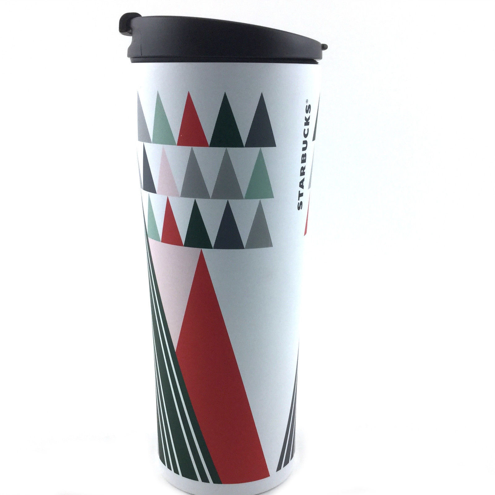 New 2017 Starbucks Stainless Steel Tumbler 12 Fl oz Travel Mug Multi Color