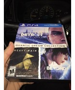Quantic Dream Collection PS4 (PlayStation 4, 2018) **new - $38.21