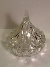 "Shannon Lead Crystal By Godinger Kiss Lidded Candy Dish Trinket Box  5 1/2"" tall - $9.85"