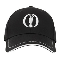 Hugo Boss Men's Adjustable Sport Embroidered Cup Logo Golf Hat Cap Black image 2