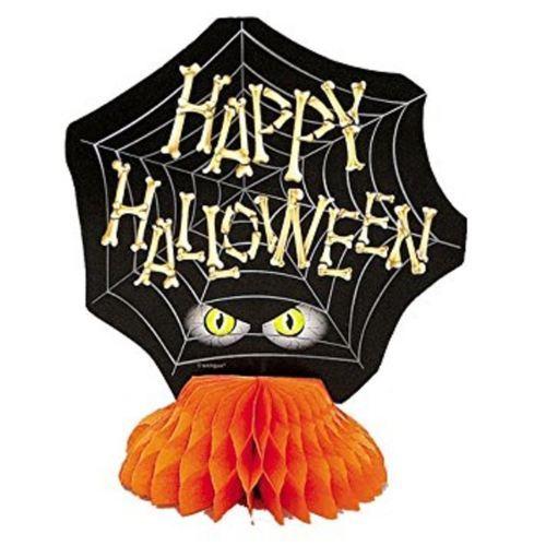 Halloween Bones 4 ct Honeycomb Centerpiece Decorations