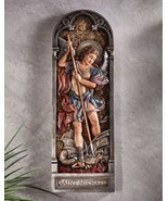 Saint Michael Wall Plaque - $69.95