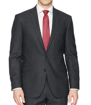 Kenneth Cole Reaction TECHNI-COLE Slim Fit Suit Jacket, Gunmetal, 42R - $89.07