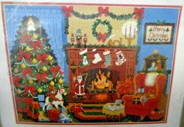 Christmas Eve Dimensions Needlework Sunset Kit 6080 Beth Reinstra 1978 - $75.00