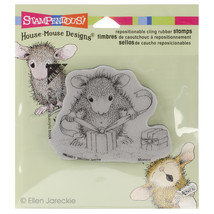 Stampendous House Mouse Cling Stamp Gifts To Tie - $8.65