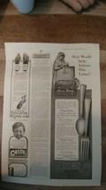 1916 Ladies Home Journal Alvin Silver Ad Antique Ephemera - $5.00