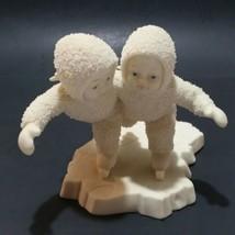 Dept 56 Snowbabies We Make A Great Pair 68438 Dept 56 In Box VTG 1999 - $11.88