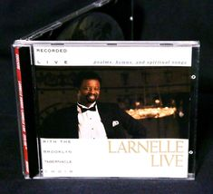 LARNELLE HARRIS LIVE with the Brooklyn Tabernacle Choir 1990 CD RARE - $17.95