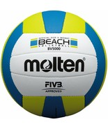 Molten JAPAN FIVB Approved Official Beach Volleyball BV5000 Size:5 Japan... - $104.98