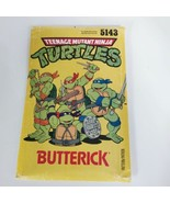 Butterick 5143 Teenage Mutant Ninja Turtle Costume Sz Boys S to L Patter... - $39.99