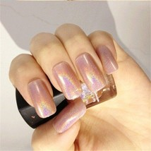Nail Polish Varnish Nude Color Hologram Effect Polish BP Nail Glitter Decoration - $6.80