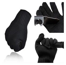 1 Pair Stainless Steel Wire Cut Resistant Anti-Cutting Safety Gloves AG9