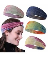 KWHY Headbands for Women,4-8 Pack Yoga Running Sports Cotton Headbands B... - $22.87