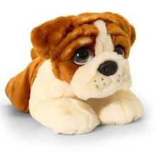Keel Toys Bulldog Dog 47cm Large Soft Toy Signature Puppy - $27.99