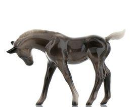 Hagen Renaker Miniature Horse Morgan Colt Ceramic Figurine Boxed image 5