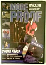 Cold Steel DVD More Proof, Sword Proof, Big Bore Blowguns, Spears in Act... - $1.93
