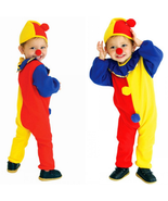 boys Masquerade Clown Jumpsuits Halloween Party Cosplay  Costumes With H... - £10.64 GBP+