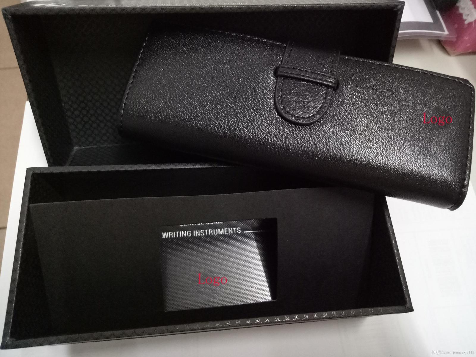 Hot sale luxury genuine leather black mb