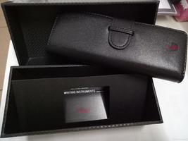 Hot sale luxury genuine leather black mb thumb200