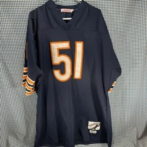 Chicago Bears Authentic Throwbacks Jersey Gridiron Edition Size 52 XXL - $19.79