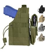Tactical Gun Holster, MOLLE Pistol Firearm Army Camo Military Modular Be... - $19.99+