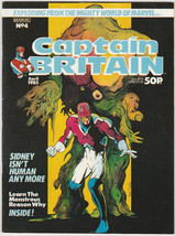 Captain Britain #4 FN/VF Marvel UK 1984 British... - $4.89