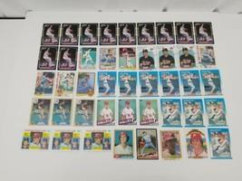 Steve Carlton Baseball Cards Lot of 43 1981 1982 1983 1985 Topps Donruss... - $38.69